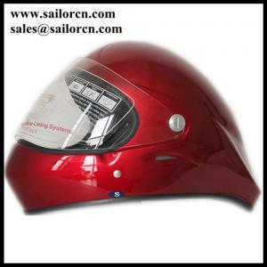 Buy cheap Skate boarding helmet full face CE Full face paragliding helmet red colour Long from wholesalers