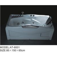 Buy cheap 85 x 150 X 65 / cm Air Bubble Bathtubs free standing ABS Material from Wholesalers