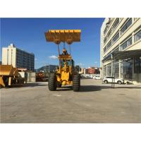 China Rock Bucket Front End Wheel Loader 6 Ton 7 Ton With Quick Hitch Log Grapple on sale
