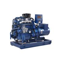 Quality 50HZ 400V 20KW Marine Diesel Generator Electric Starting With Sea Water Pump for sale