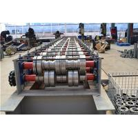 Wholesale Red Steel Plc Controlling Equipment Aluminium Floor Deck Tile Roll Forming Machine from china suppliers