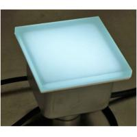 Wholesale CE RoHS Waterproof IP67 Garden Decoration Frosted With Glass LED Brick Paver from china suppliers