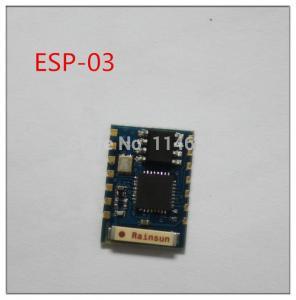 Wholesale ESP8266 serial WIFI module wireless module model ESP-03 from china suppliers