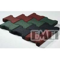 Wholesale Self-drainage driveway rubber flooring tile from china suppliers