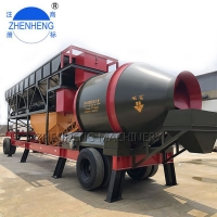 Wholesale YHZM35 35m3/H Mobile Concrete Batching Plant For Road Bridge from china suppliers