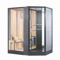Wholesale Steam Shower Room with Black Acrylic Base from china suppliers