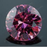 China low price cz stone square shape pink synthetic diamond for sale