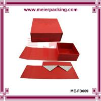 Wholesale Wholesale fancy custom logo foldable shopping shoe paper box ME-FD009 from china suppliers