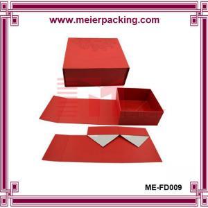 Wholesale Folding paper box, China foldabel paper storage box ME-FD009 from china suppliers