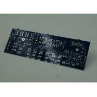 Wholesale Blue FR4 PCB Printed Circuit Board Immersion Silver Finish White Silkscreen from china suppliers