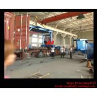 Wholesale Eco-friendly High Speed H Beam Shot Blasting Machine With Rubber Curtain / CE Approved from china suppliers