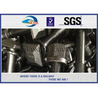 Buy cheap 5.6 grade Railway Square Head Bolt & Screw With Plain or HDG treatment from wholesalers