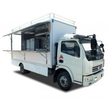 BVG Street Mobile Vending Trucks , Fast Food BBQ Mobile Restaurant Van for sale