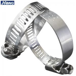 Buy cheap American/German Type  Stainless Steel Hose Clamp,Pipe Metal Tie from wholesalers