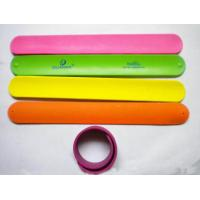 Silicon slap wristbands for sale