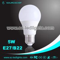 Wholesale A19 led bulb 5W e27 led light bulb supply from china suppliers