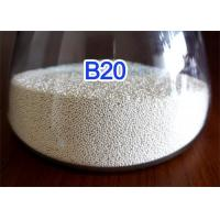 Environmentally Friendly Ceramic Blasting Media Solid Round Ball High Toughness for sale