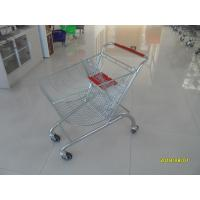 Buy cheap Coloful Powder Coating Metal Shopping Trolley 4 Flat Swivel Casters from wholesalers