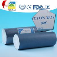 Disposable Medical Cotton Roll , Absorbent Bleached Large Cotton Wool Roll