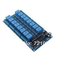 Wholesale 5V/12V 16 Channel Relay Module Interface Board For Arduino PIC ARM DSP PLC With Optocouple from china suppliers