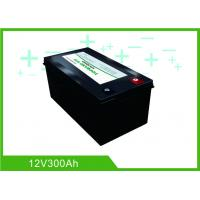 Buy cheap Black Lithium RV Deep Cycle Battery 12V 300A Low Temp Charging Long Lifespan from wholesalers