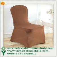 Wholesale Yishen-Household Cheap wedding polyester spandex lycra stretch chair cover from china suppliers