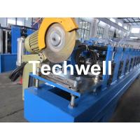 Wholesale 13 Forming Stations Roller Shutter Door Cold Roll Forming Machine With Manual Decoiler from china suppliers