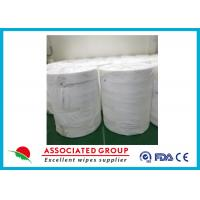 Wholesale Breathable Spunlace Non Woven Tissue Sheets Eco Friendly For Hygiene / Beauty Industry from china suppliers