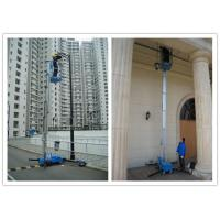 Buy cheap Office Buildings Personnel Lift Platform , 160kg Rated Load Electric Ladder Lift from wholesalers