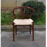 Home Rattan Dining Chair With Leather Back Hotel Banquet