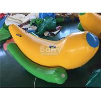 Wholesale Interesting 2 Seats Inflatable Banana Boat / Inflatable Water Seesaw from china suppliers