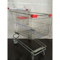 Wholesale Large Volume Metal Steel Australia Shopping Cart Four Wheel with Child Seat from china suppliers