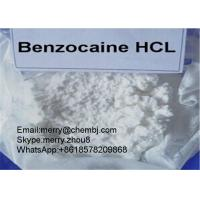 Wholesale Benzocaine HCL Local Anethtic Raw Powder Benzocaine Hydrochloride For Pain Killer 23239-88-5 from china suppliers