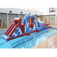 Wholesale Funny Kids Sports Inflatable Water Obstacle Course With Safety PVC Tarpaulin from china suppliers