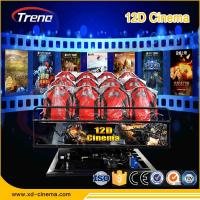Buy cheap 5KW Electric System 9D VR Cinema 9D VR Simulator Six Seat Players for Amusement from Wholesalers
