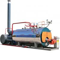 China Skid Mounted Diesel Steam Boiler 1.5 Ton Natural Circulation Horizontal Style for sale
