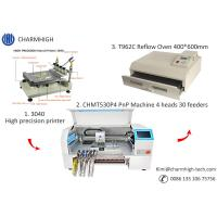 Wholesale CHMT530P4 SMT Production Line With Pnp Machine Solder Paste Printer T962A Reflow Oven from china suppliers