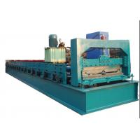 China Green C Purlin Roll Forming MachineFor Making 760mm Width Roof Purlin on sale