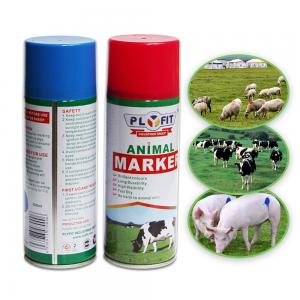 Wholesale B1003 Article Tinplate  Acrylic 400ml Animal Marking Paint from china suppliers