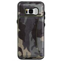 Wholesale Galaxy S8 Samsung Leather Wallet Case Crazy Horse Original Camouflage Color from china suppliers