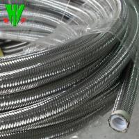 China High temperature 304 stainless steel wire hose SAE 100 R14 flexible metal hose on sale