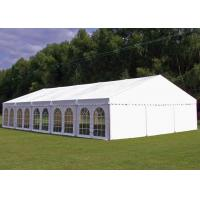Wholesale PVC Tarpaulin Garden Party Tent , Outside Tent Weddings 5 M Bay Distance from china suppliers