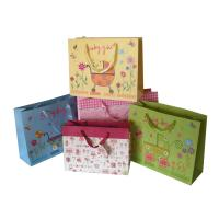 Wholesale Custom made good quality Christmas paper gift bags in Qingdao from china suppliers