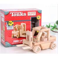Wholesale TONKA wooden toys / assembling truck model / Educational Toys / DIY Toy from china suppliers