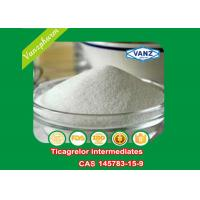 Quality 145783-15-9 Pharmaceutical Intermediates Ticagrelor Intermediates Antiplatelet Drugs for sale