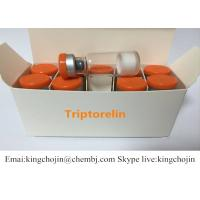Wholesale 99% Purity Triptorelin Acetate Powder for Weight Loss 2mg/Vial CAS 57773-63-4 from china suppliers