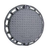 Wholesale Round Type Ductile Iron Manhole Cover EN124 D-400 C250 30-50 Years Life from china suppliers