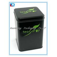 Quality tea packing tin box wholesale for sale