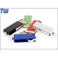 China Tiny Swivel Thumb Drives 16GB 32GB with Free Key Chain and Free Logo Printing for sale