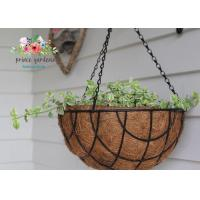 Wholesale Fashion Colorful Decorative Hanging Flower Pots Garden Ornamental from china suppliers